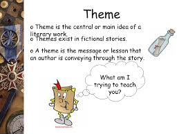 reading comprehension theme main idea vs supporting details
