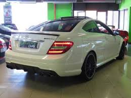mercedes c350 coupe for sale 2013 mercedes c class c 63 coupe amg performance pack white