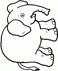 elephant coloring pages clipart panda free clipart images