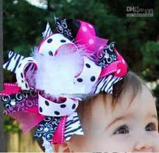 boutique bows multi layered large boutique style hair bow baby toddler