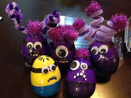 Frozen Easter Egg Decorating Kit by Evil Purple Minion Easter Eggs Hahaha Easter Pinterest