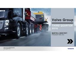 volvo headquarters volvo ab adr b 2016 q3 results earnings call slides volvo ab