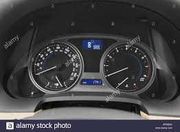 black lexus 2007 2007 lexus is 250 in black speedometer tachometer stock photo
