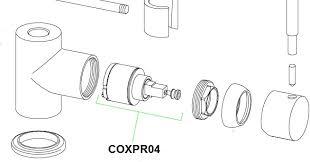 franke robinet cuisine cartouche céramique pour mitigeur à douchette franke coxy coxpr04