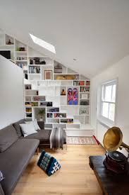 Living Room With Stairs Design Compact Stairs The Step Towards A Happy Tiny Home