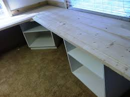 Plans To Build by How To Build An L Shaped Desk Plans To Build An L Shaped Desk Desk