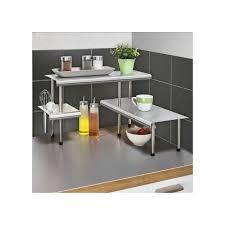 etagere pour cuisine etagere d angle de cuisine massivo trio a 3 rayons acier inox