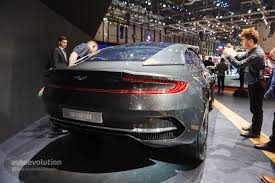 aston martin rapide shows its aston martin official bashes the volkswagen group with the dbx