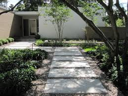 Mid Century Modern Landscaping by New Landscaping For A Newly Remodeled Mid Century Modern