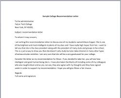 student recommendation letter u2013 smart letters