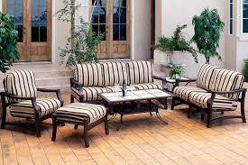 Patio Furniture Conversation Set Modern Style Lanai Patio 4 Seat Outdoor Conversation Furniture Set