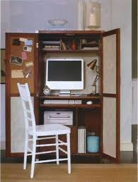 computer armoire with pull out desk wooden small computer armoire with pull out storage useful