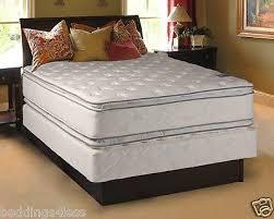 pillow top mattress collection on ebay