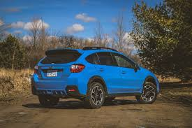 blue subaru hatchback review 2016 subaru crosstrek canadian auto review