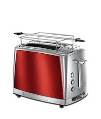 Russell Hobbs Toasters Russell Hobbs Toaster Luna Red 23220 56 Smartech Ee