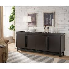 furniture of america dalton buffet table in cappuccino idi 161486