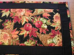 thanksgiving theme handmade unique quilted table runners different sizes handmade