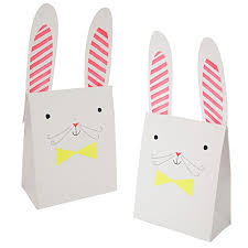 meri meri rabbit bunny treat bags by meri meri