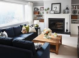 Best  Navy Couch Ideas On Pinterest Navy Blue Couches Blue - Interior design in living room