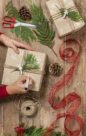beautiful christmas wrapping paper best 25 brown christmas wrapping paper ideas on