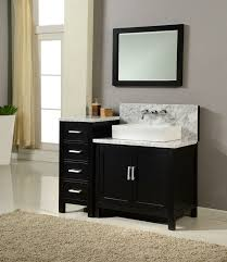 50 Inch Bathroom Vanity by J U0026 J International 50 Inch Horizon Single Sink Vanity White