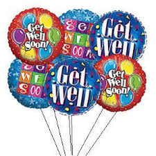 get well soon balloons get well soon balloon bouquet florist orlando fl in bloom