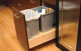 kitchen trash can ideas kitchen cabinet trash can hbe kitchen