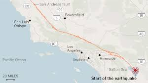 Areas To Avoid In Los Angeles Map by Signs Of Past California U0027mega Quakes U0027 Show Danger Of The Big One