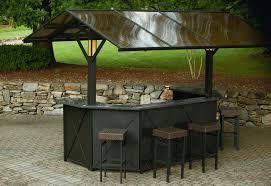 Gazebo With Bar Table Ty Pennington Style Sunset Beach Deluxe Lighted U0026 Music Hardtop