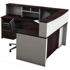 Inexpensive Reception Desk Reception Desks U0026 Suites You U0027ll Love Wayfair