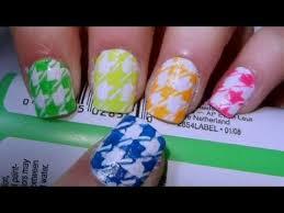 breast cancer awareness pink ribbon nail design tutorial using a