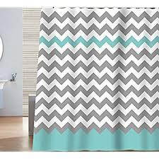 Green Chevron Shower Curtain Interdesign Chevron Shower Curtain 72 X 72 Inch Gray