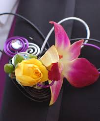 Prom Flowers Pink Orchid Boutonniere Prom Flowers In Montgomery Ny