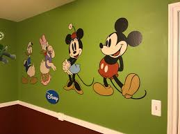 classic mickey friends wall decal shop fathead for mickey these look especially good on the wall