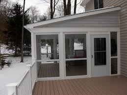 enclosed covered porch awesome enclosed porches images