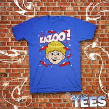 Internet Meme Shirts - kazoo kid tee funny blue t shirt original by snappysvinyl on etsy