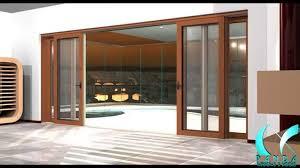 Wooden Sliding Patio Doors Sliding Patio Doors With Built In Blinds Door Track Hardware 96