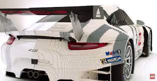 lego porsche lego porsche 911 rsr makes appearance at 24 hours of le mans the