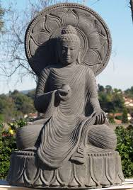 spiritual statues spread of buddhism buddha statues with halo found in ancient