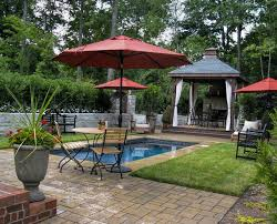 backyard pool cabana pictures with tradtional design style also