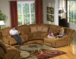 cloth reclining sofa camel fabric enterprise 4pc reclining sectional sofa w options