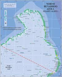 Map Of Maldives Huvadhoo Atoll Gaafu Maldives Atolls