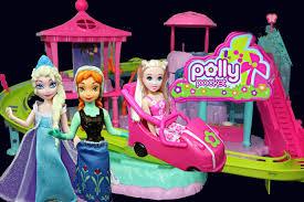 polly pocket roller coaster resort disneycartoys u0026 disney frozen