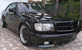 mercedes 560 sec coupe for sale black series 1 of 4 1989 mercedes 560sec amg german cars