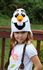 Olaf Costume Frozen Olaf Costume Crochet Hat Pdf Pattern Instant Download