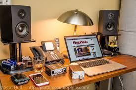 Studio Monitor Desk by The Guttenberg Challenge Affordable Loudspeakers From Dayton