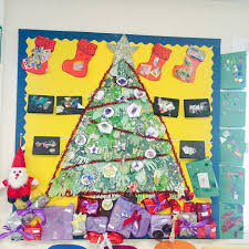 Classroom Christmas Tree Displays