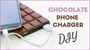 diy phone charger diy phone charger chocolate power bank recycle crafts youtube
