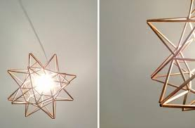 morovian light diy copper moravian pendant light fixture the design