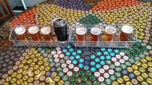 beer cap table top the 8 recent brews on top of a beautiful beer bottle cap table